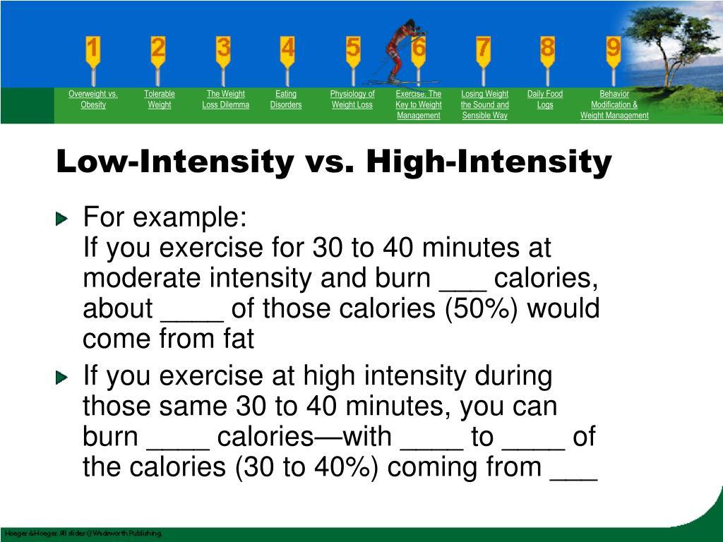 Overweight vs. Obesity