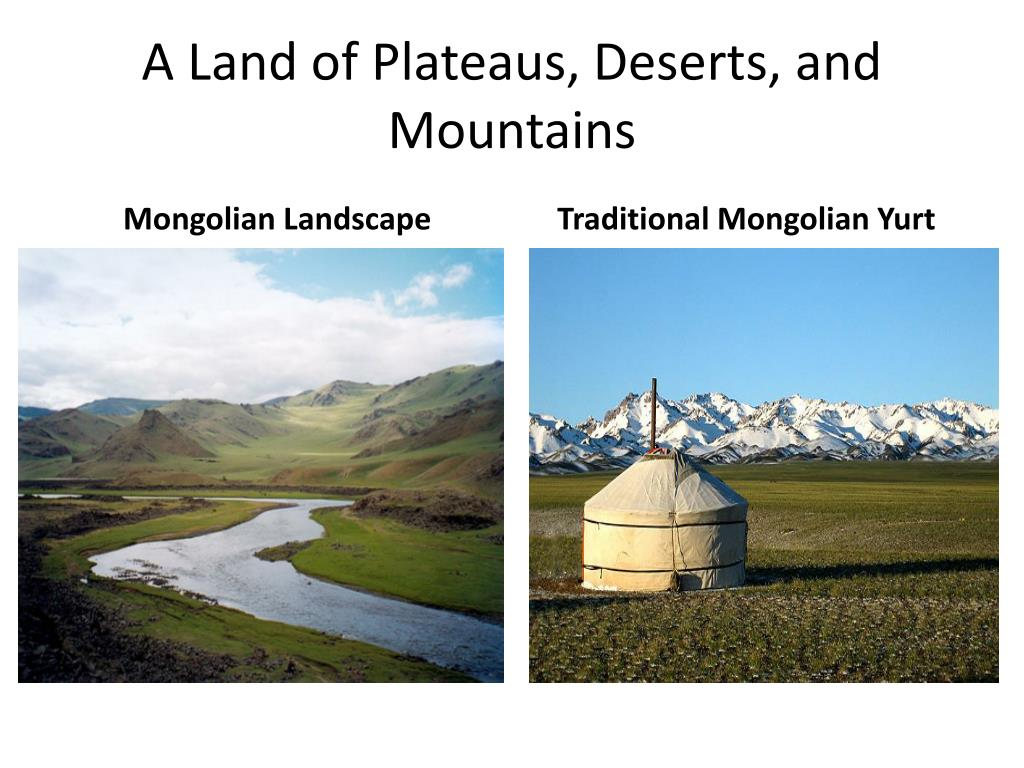 A Land of Plateaus, Deserts, and Mountains