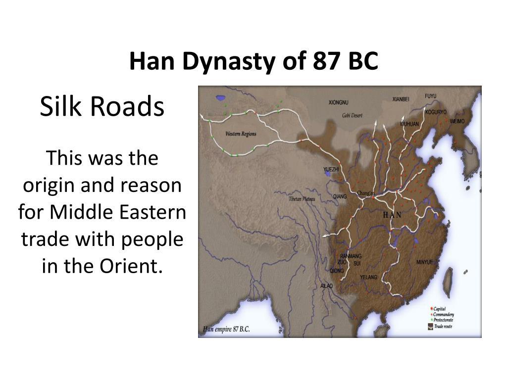 Han Dynasty of 87 BC
