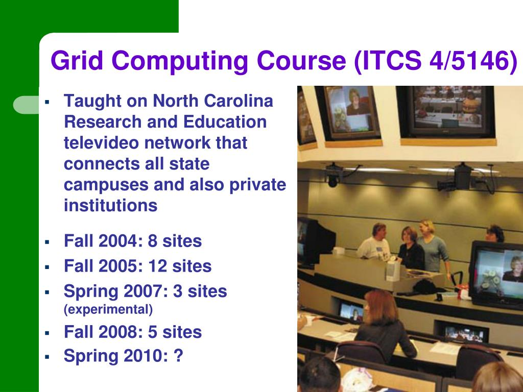 Grid Computing Course (ITCS 4/5146)