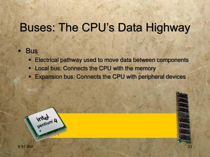 Buses: The CPU's Data Highway
