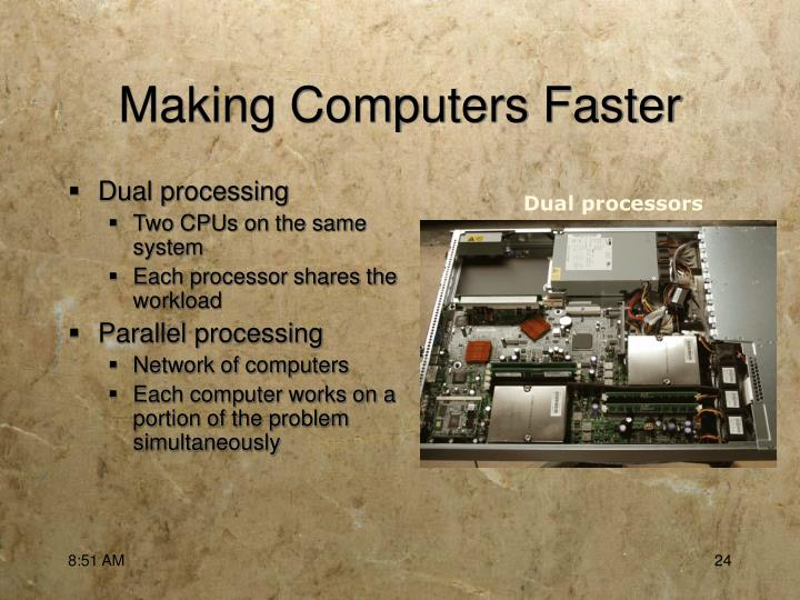 Making Computers Faster