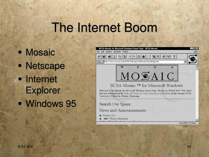The Internet Boom
