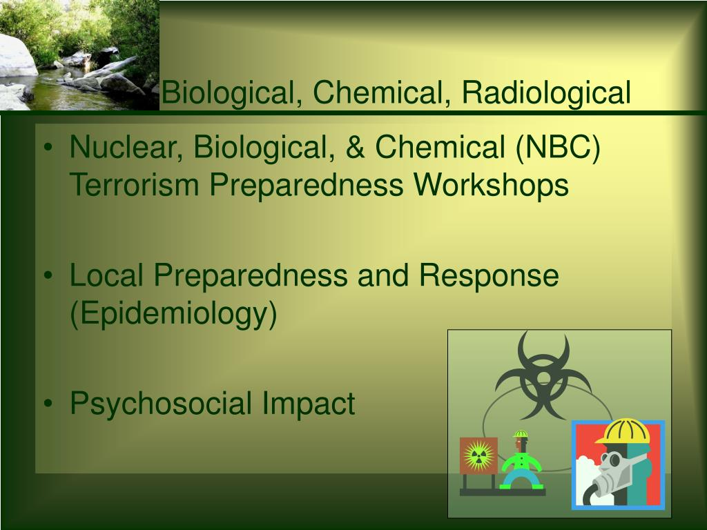 Biological, Chemical, Radiological