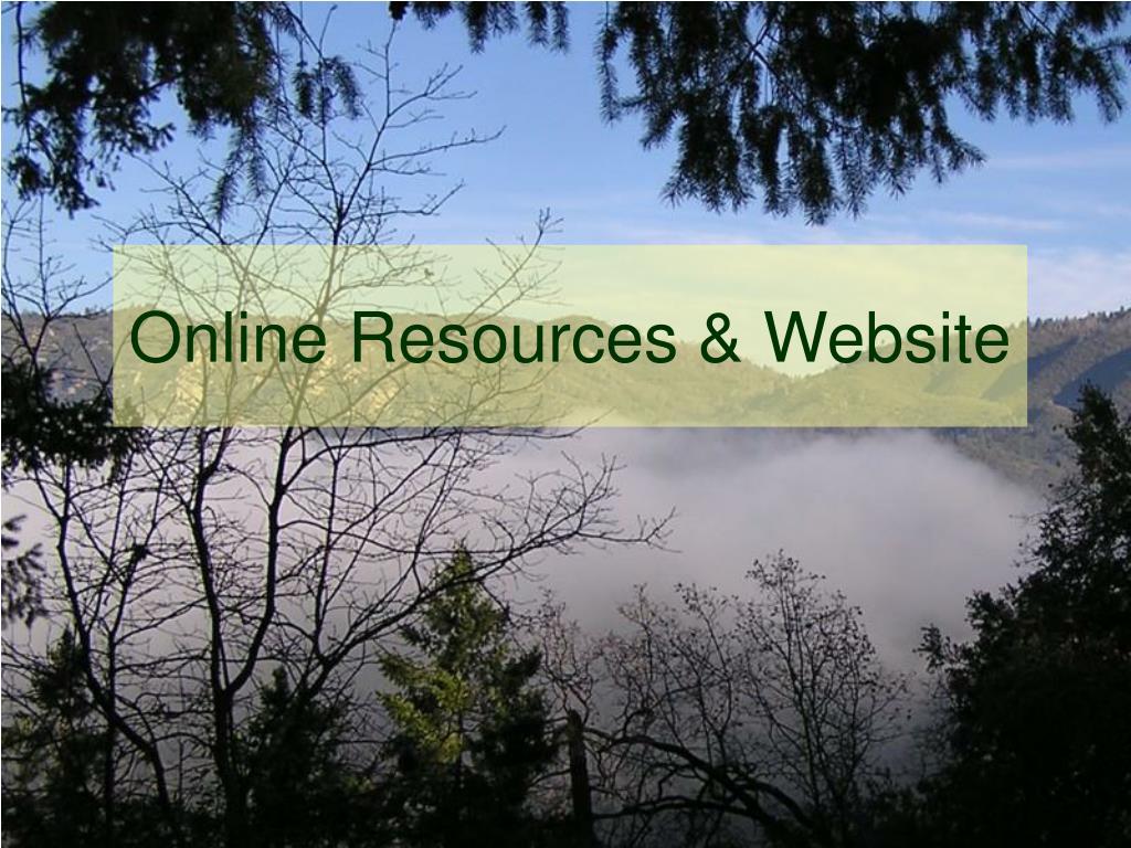 Online Resources & Website