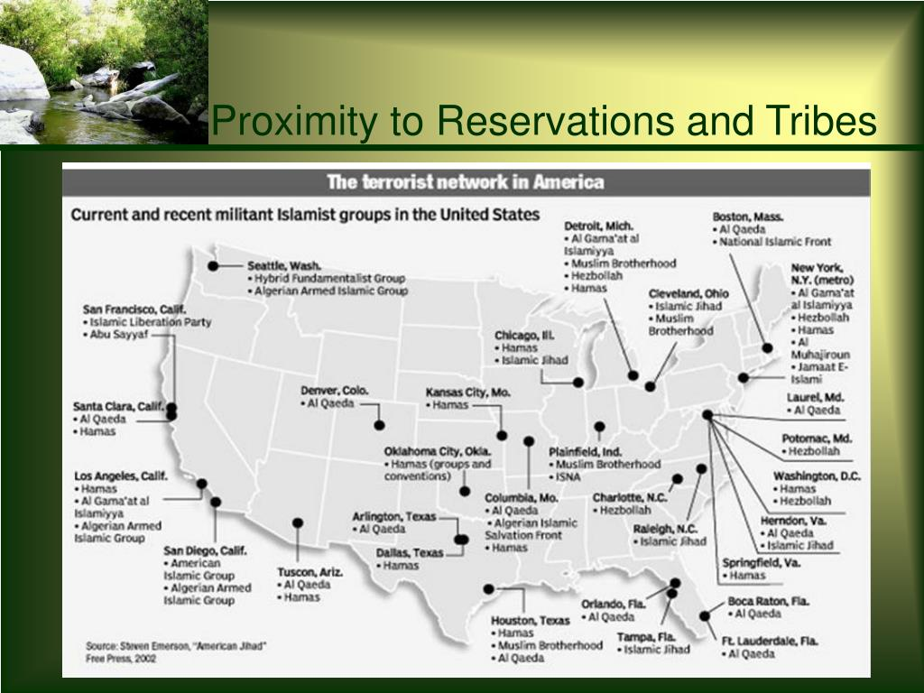 Proximity to Reservations and Tribes