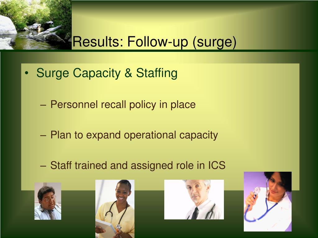 Surge Capacity & Staffing