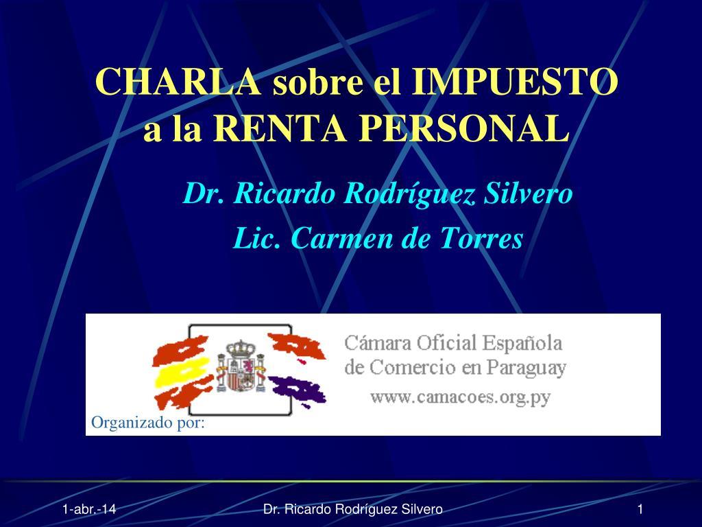 Dr. Ricardo Rodríguez Silvero