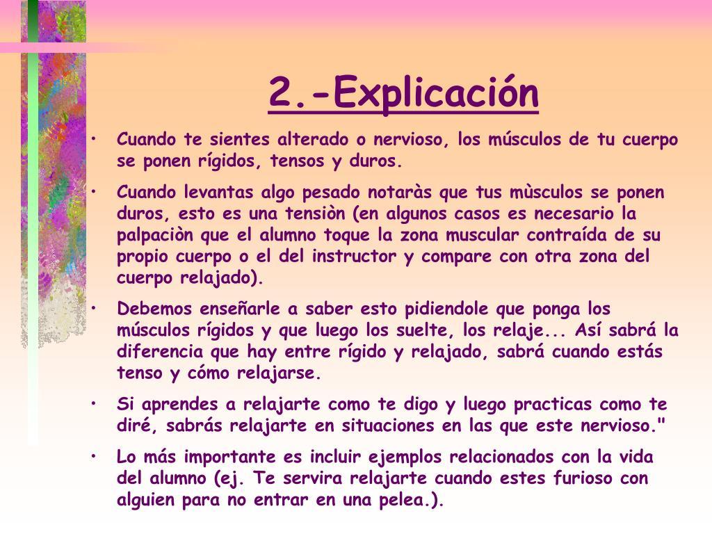2.-Explicación
