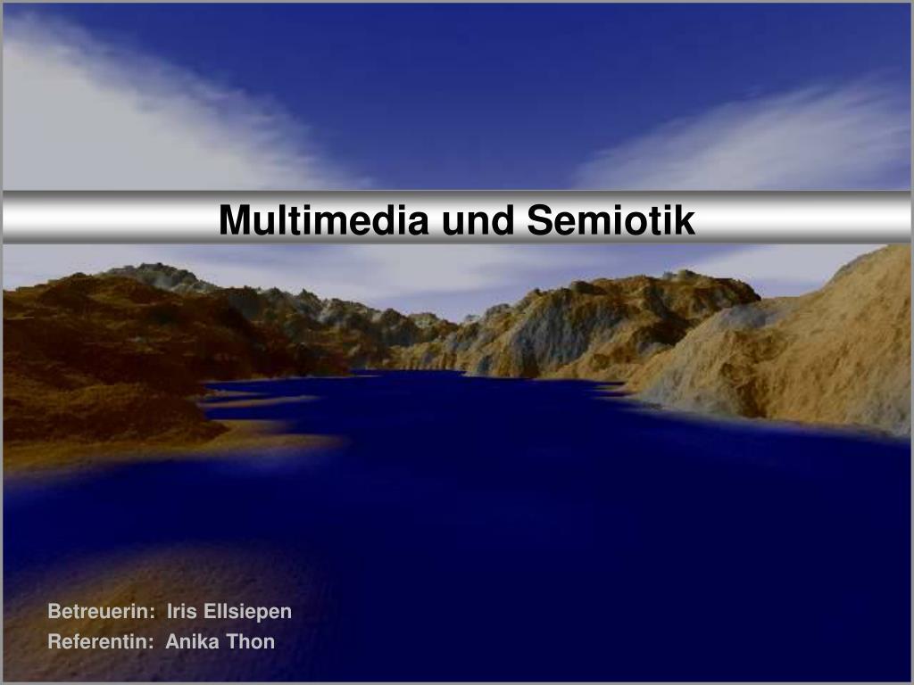 multimedia und semiotik l.