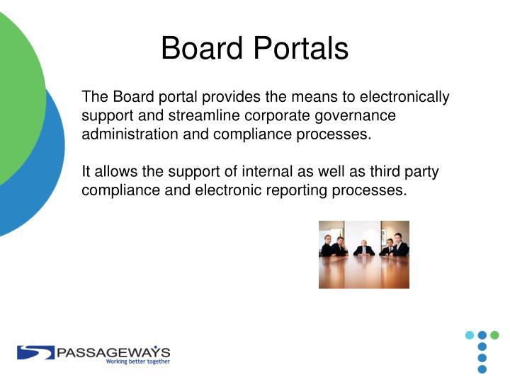 Board Portals