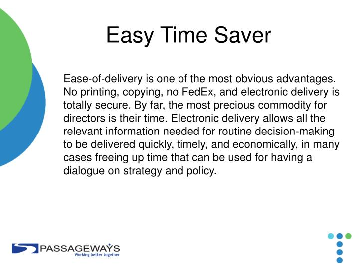 Easy Time Saver