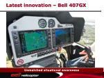 latest innovation bell 407gx18