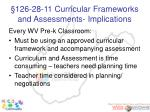 126 28 11 curricular frameworks and assessments implications