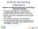 126 28 16 financing implications51