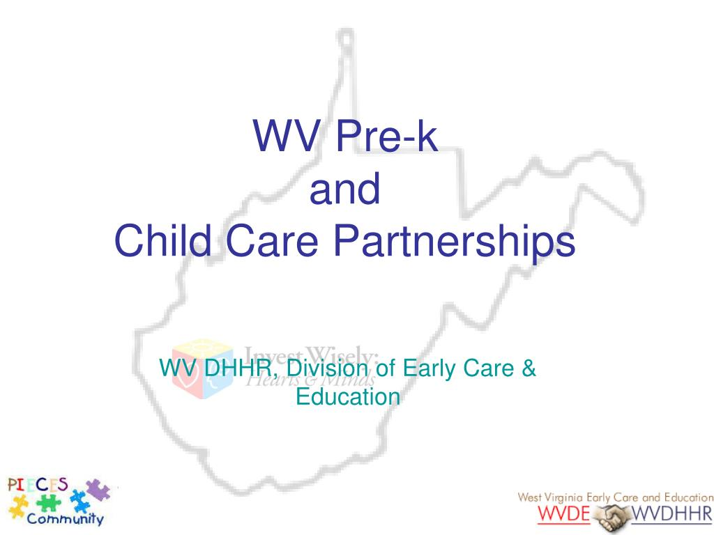 wv pre k and child care partnerships l.