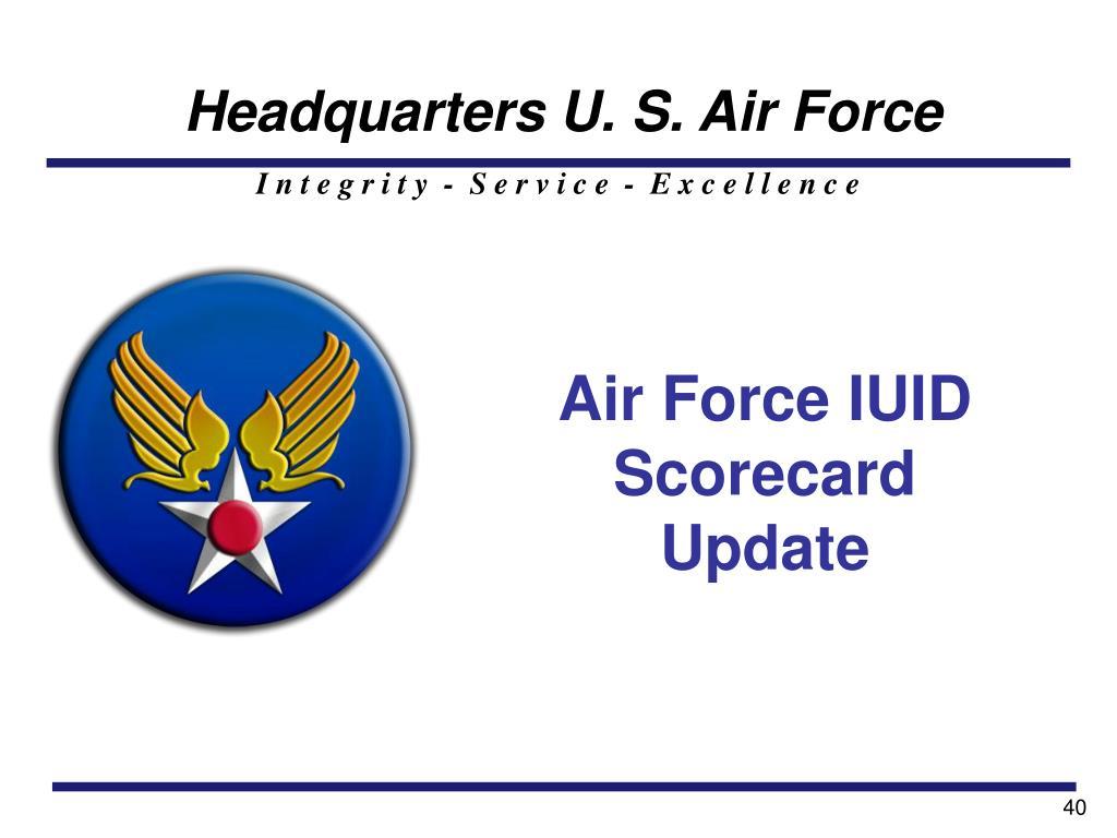 Headquarters U. S. Air Force