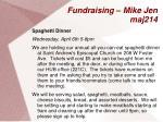 fundraising mike jen maj214