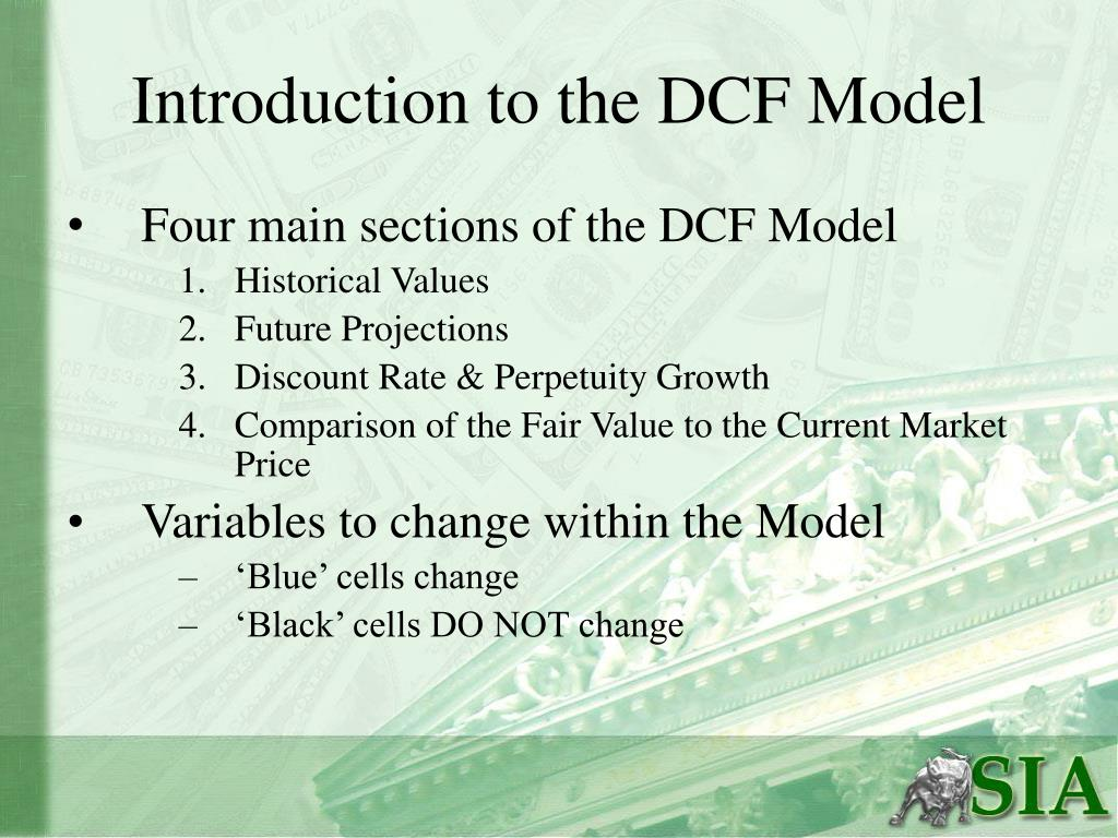 Introduction to the DCF Model