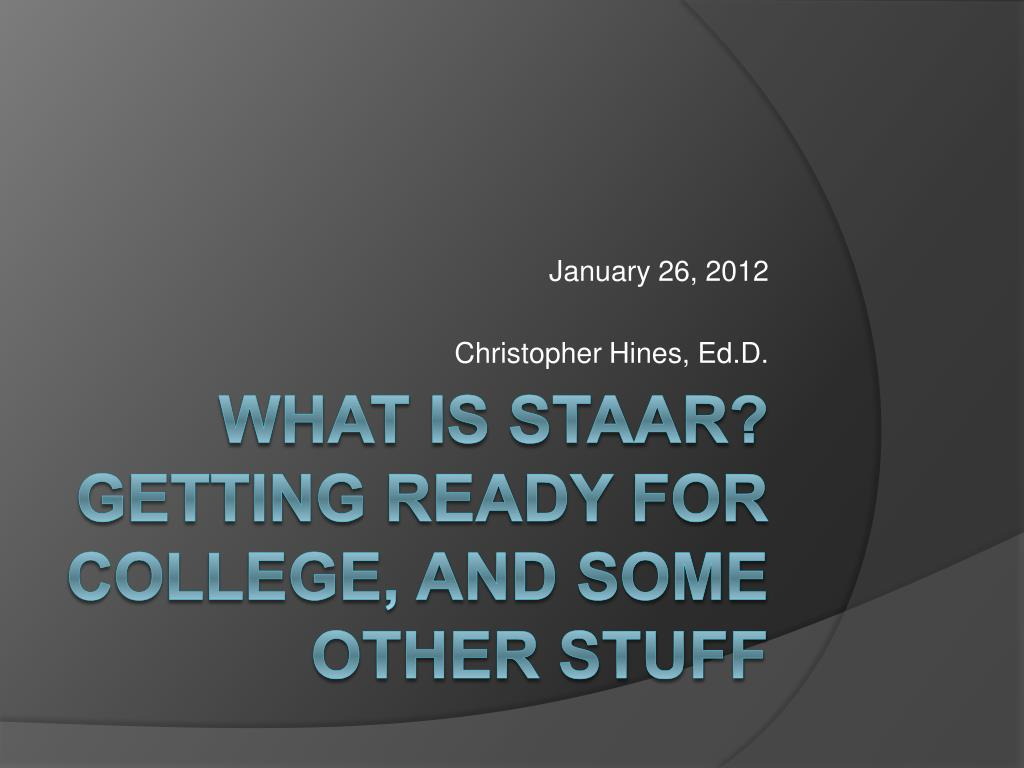 january 26 2012 christopher hines ed d