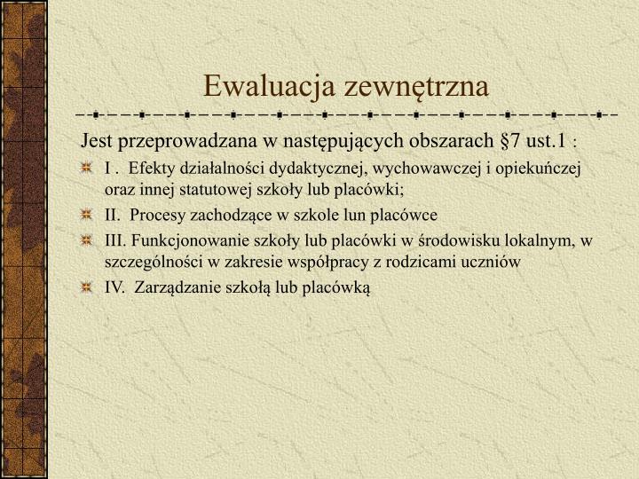 Ewaluacja zewn trzna3