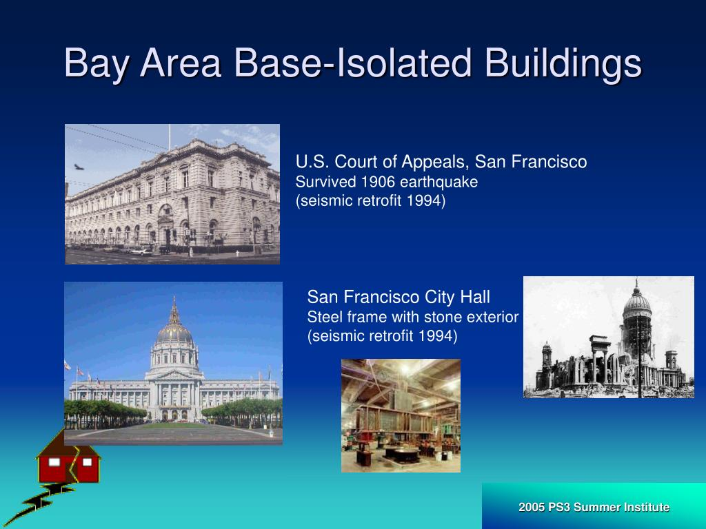 Bay Area Base-Isolated Buildings