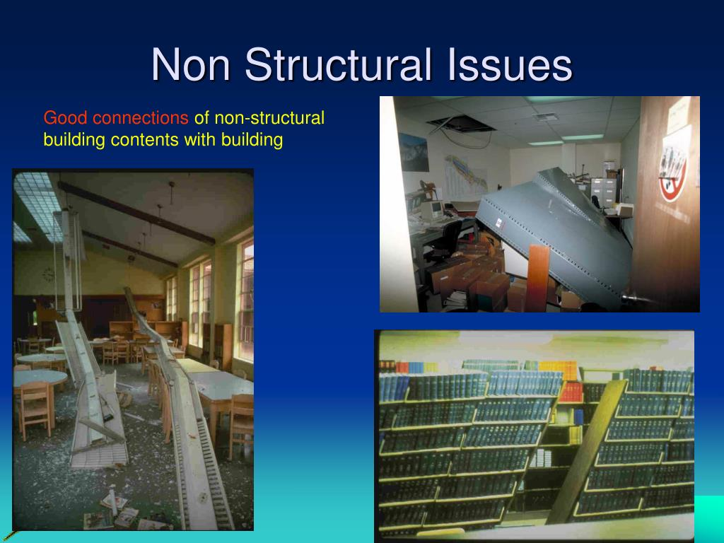 Non Structural Issues