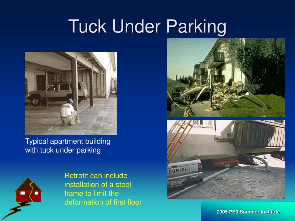 Tuck Under Parking