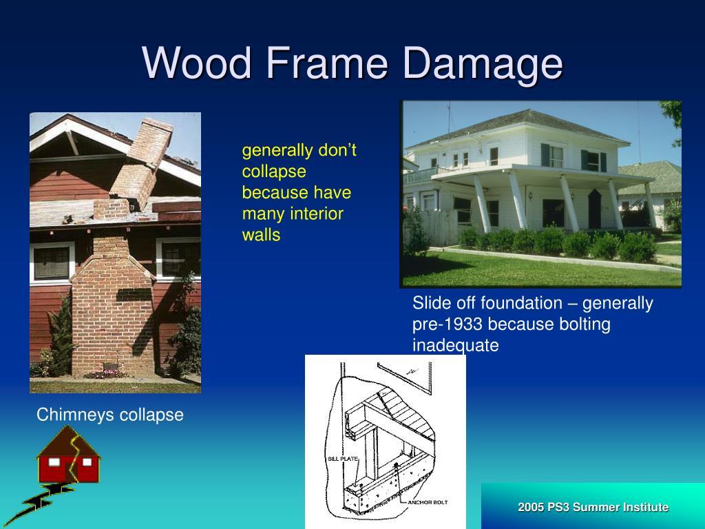 Wood Frame Damage