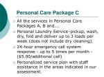 personal care package c