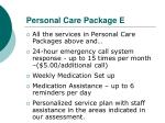 personal care package e
