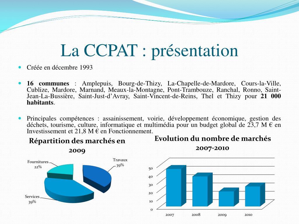 La CCPAT : présentation