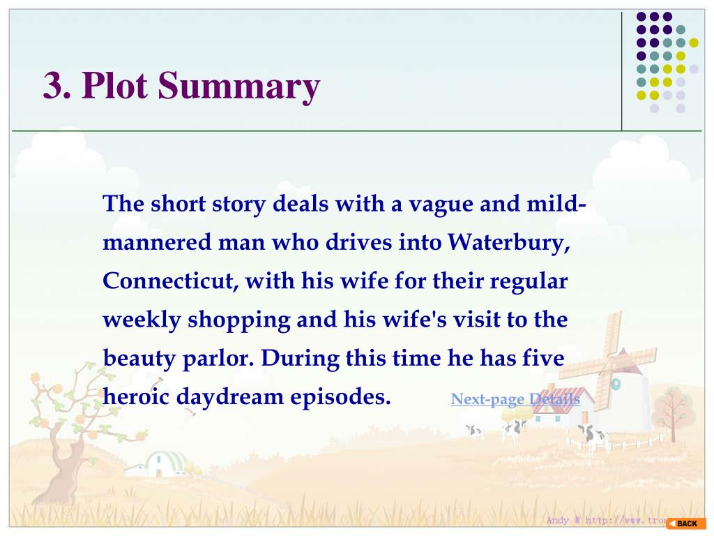 3. Plot Summary