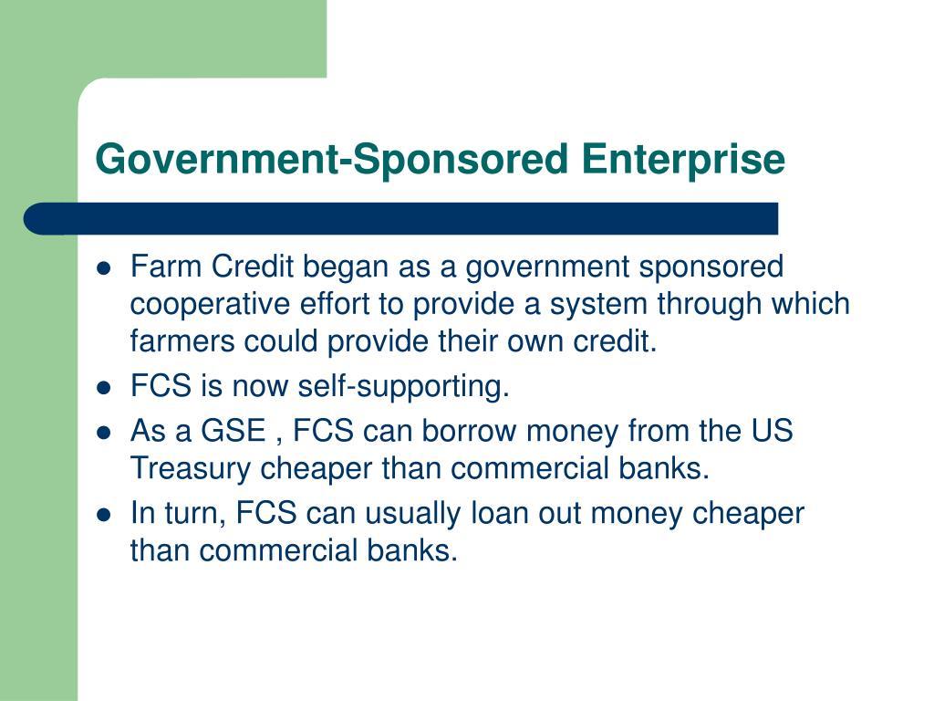 Government-Sponsored Enterprise