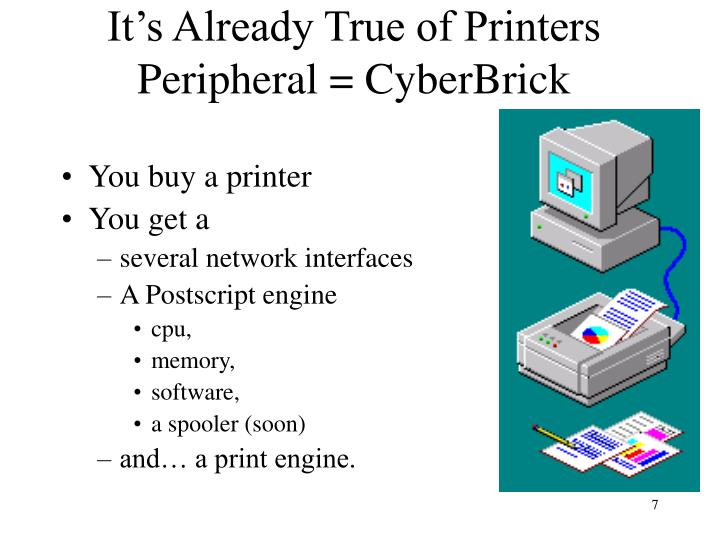 It's Already True of Printers