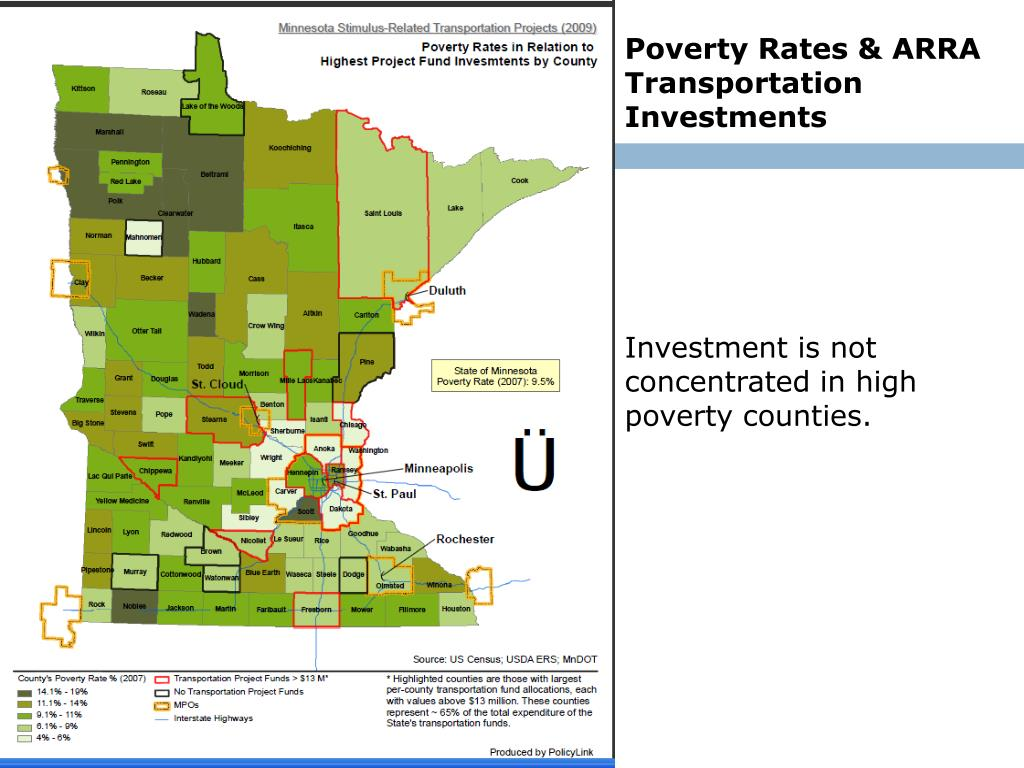Poverty Rates & ARRA Transportation Investments