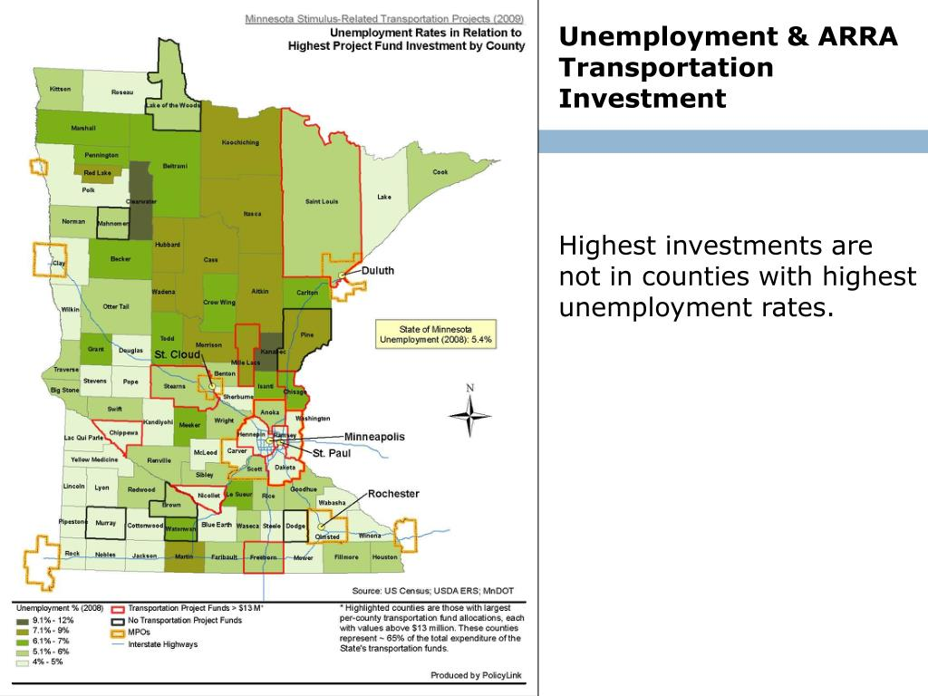 Unemployment & ARRA Transportation Investment