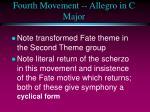 fourth movement allegro in c major1