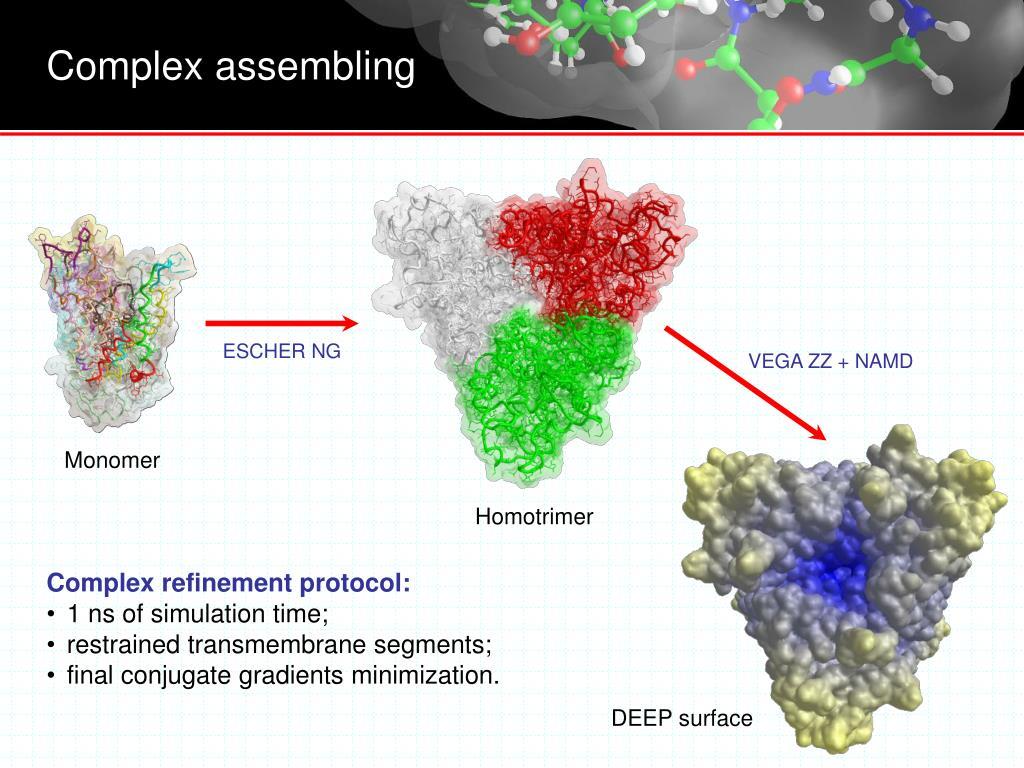 Complex assembling