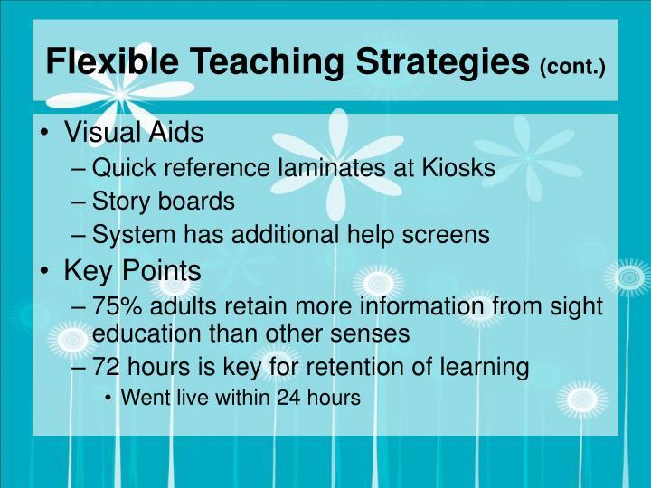 Flexible Teaching Strategies