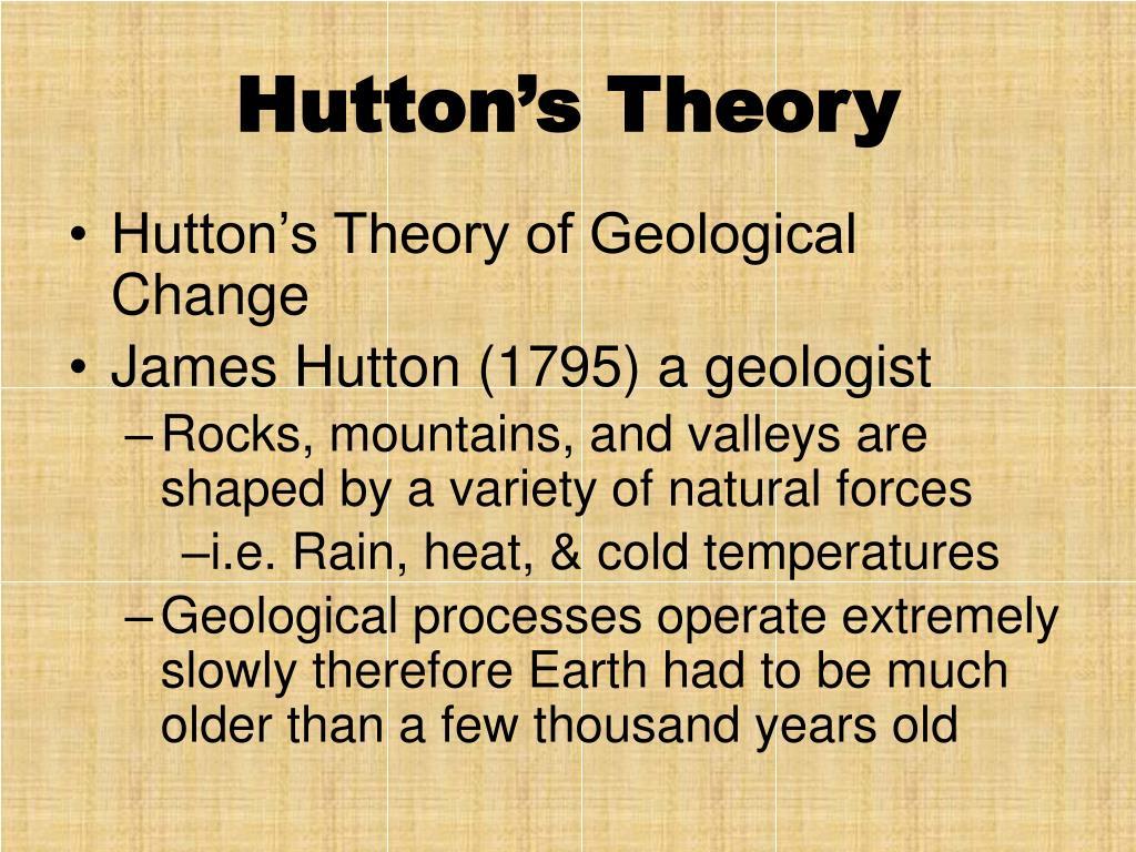 Hutton's Theory