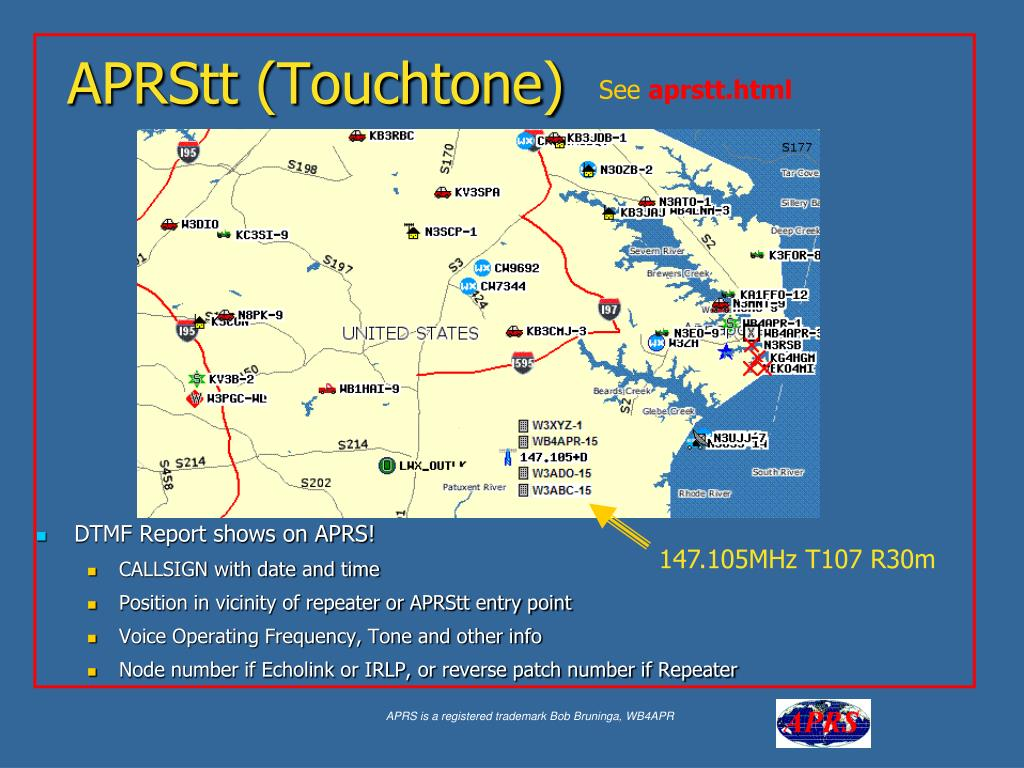 DTMF Report shows on APRS!