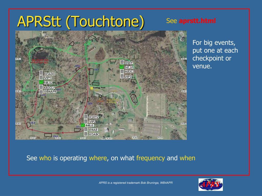 APRStt (Touchtone)