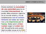 orden internacional 7