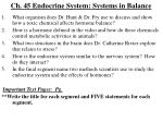 ch 45 endocrine system systems in balance