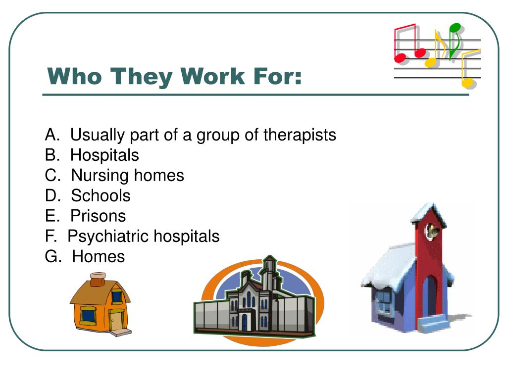Who They Work For: