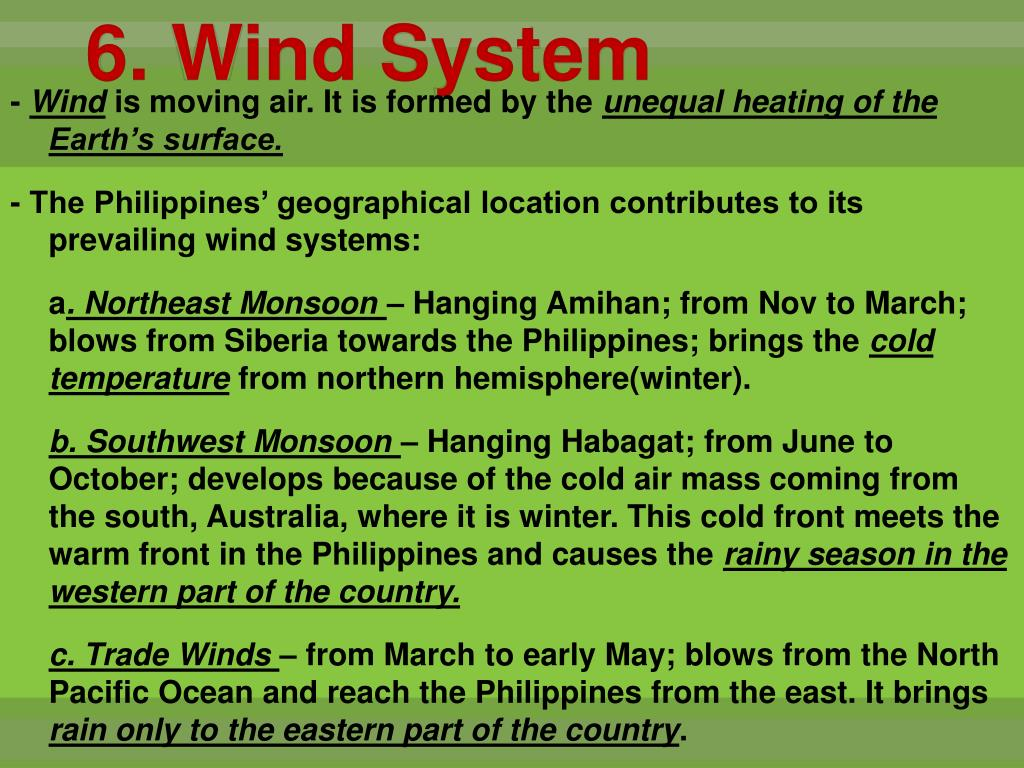 6. Wind System