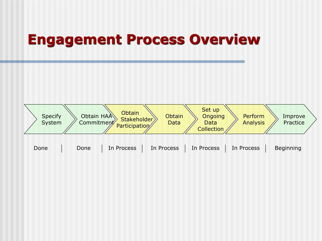 Engagement Process Overview