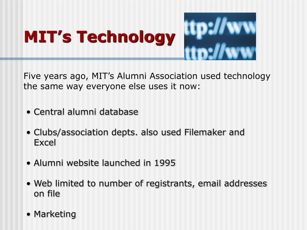 MIT's Technology