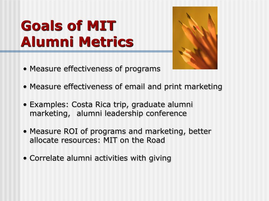 Goals of MIT